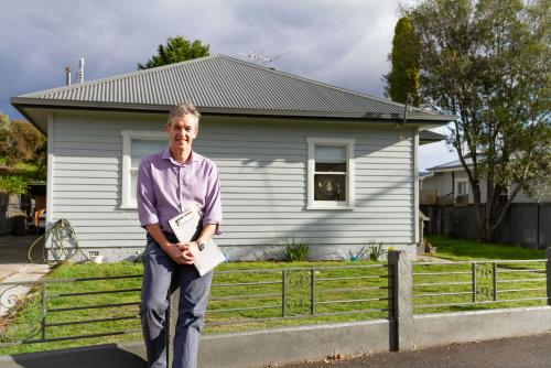 James Norman, General Manager Housing Operations, encourages the owners of private rental properties to work with Centacare Evolve Housing to provide secure and affordable accommodation for Tasmanians.
